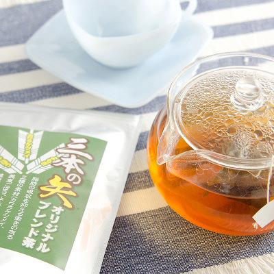 山口名物_とくぢ健康茶企業組合【 三種の素材をブレンドした健康茶 】