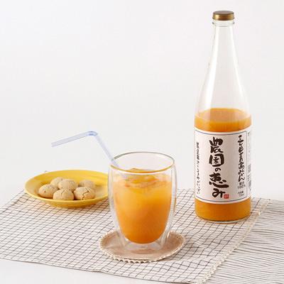 静岡特産_【 三ヶ日青島みかんジュース「農園の恵み」】