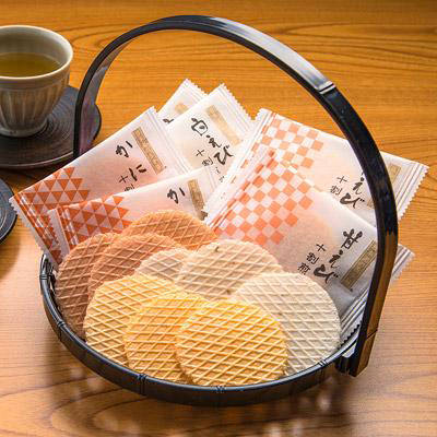 富山土産_あいば食品 【 十割煎餅 】