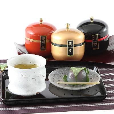 静岡名産_缶入り銘茶詰合せ「三鈴・みすず」