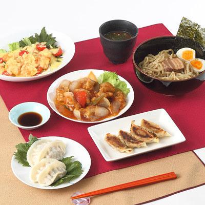 奈良特産_餃子と中華惣菜のセット