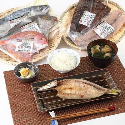 和歌山名物_【 梅塩の干物&味醂干し(湯浅醤油使用)セット 】