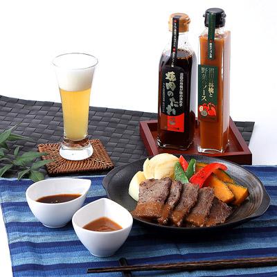 群馬名産_鈴木アップル園 【 自家製の野菜とりんごを使ったソースと焼肉のたれ 】