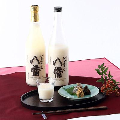どぶろく 生 八幡(2本セット)|あるぺん屋 八幡高原酒造・広島県