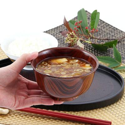 神奈川特産-大川木工所【 小田原漆器  汁椀 】