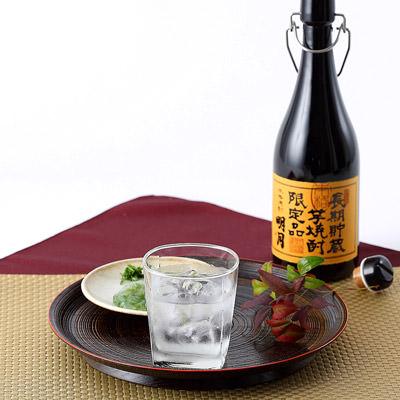 宮崎名産_明石酒造 芋・米ブレンド焼酎【 明月 】