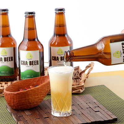 煎茶で作ったペールエール 和束茶ビール(4本セット)