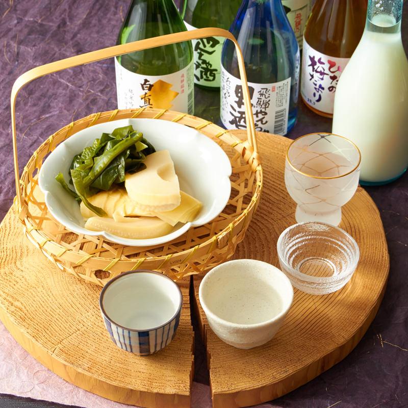 白真弓「こだわりの飲み比べセット」〔日本酒300ml×5本、リキュール300ml×1本〕