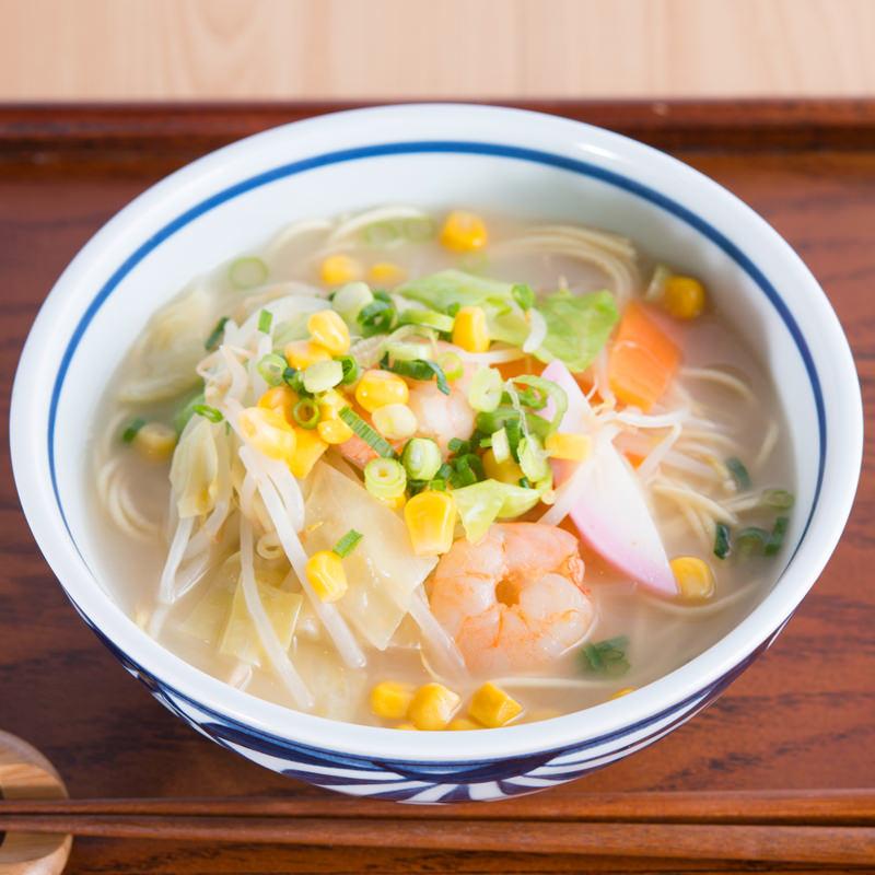 棒ラーメンスープ付き 4食〔麺146g(2食)×2・醤油スープ×2・ちゃんぽんス—プ×2〕