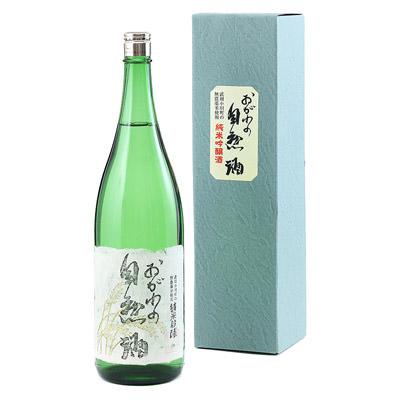 埼玉名産_晴雲酒造 【 純米吟醸 おがわの自然酒 】