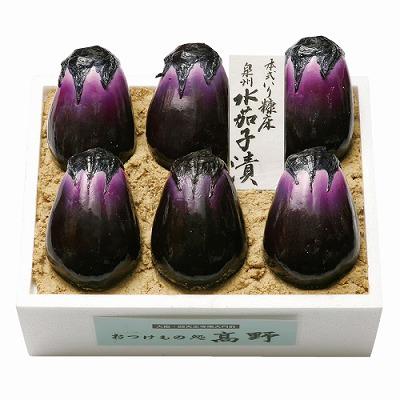 大阪特産-おつけもの高野【泉州水茄子漬】
