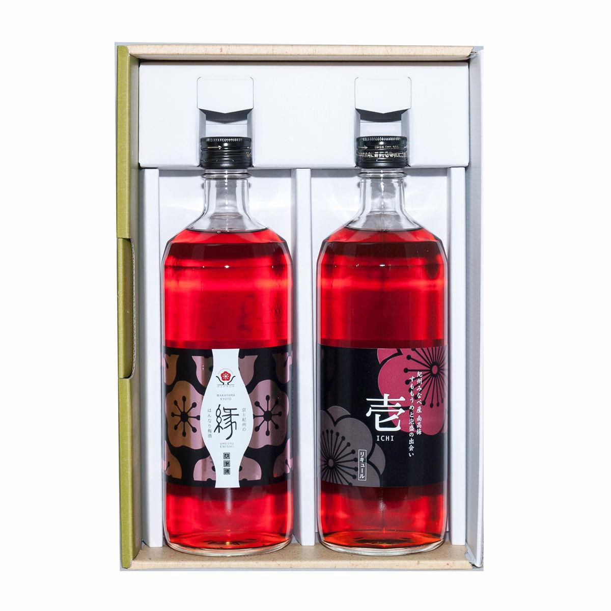 和歌山特産_梅酒(壱・縁)