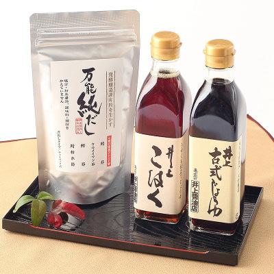 島根名産_井上醤油店【 純だしセット 】