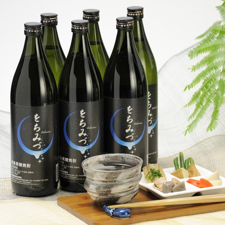 黒糖焼酎 をちみづ 化粧箱入6本セット 新納酒造株式会社・鹿児島県