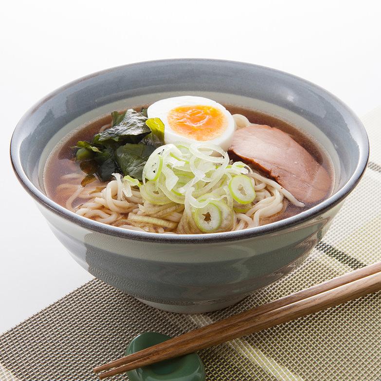 比内地鶏スープのラーメン 株式会社アルク 秋田県 仙北市角館産小麦を14%使用した自家製麺と比内地鶏のスープ