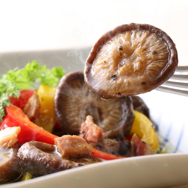 風味豊かな仕上がり! スペイン風 椎茸のアヒージョ 詰合せ 株式会社姫野一郎商店・大分県