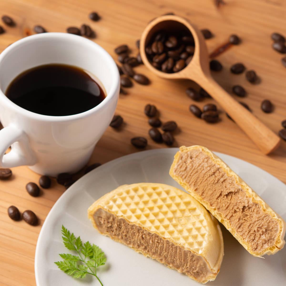 ドトールコーヒー薫るアイスモナカ10個 〔100ml×10〕 高知県土産 アイス 土佐 高知アイス