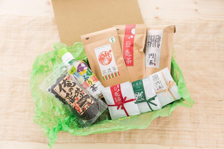 仁淀川の初夏の香りと渋みが心を癒す「さわたりのお茶セット」 株式会社ビバ沢渡・高知県