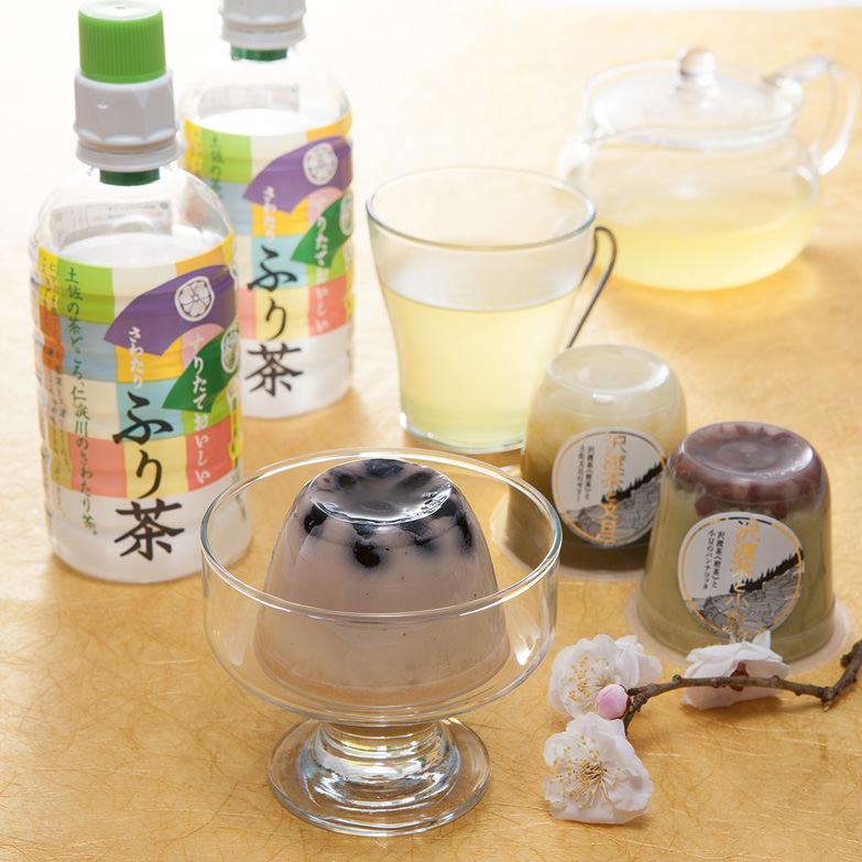 お茶スイーツと沢渡茶の詰め合わせ 株式会社ビバ沢渡 高知県 自慢のお茶づくし!お茶スイーツと沢渡茶・和紅茶のセット