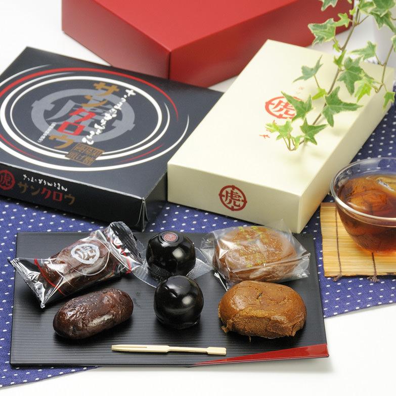 数々の賞を受賞している薩摩を代表する銘菓。薩摩の黒の三兄弟 薩摩菓子処とらや・鹿児島県