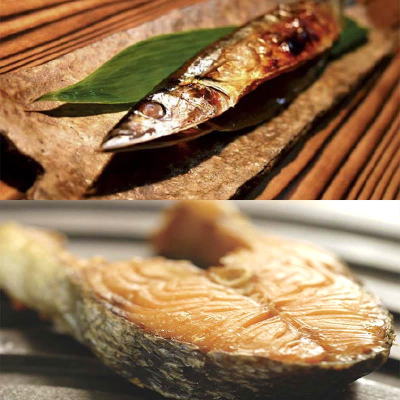 """三陸近海で捕れた新鮮な魚を当店特製の""""米ぬか""""に漬けこんで熟成させ天日干し。三陸・宮古縄文漬詰め合わせ 山根商店・岩手県"""