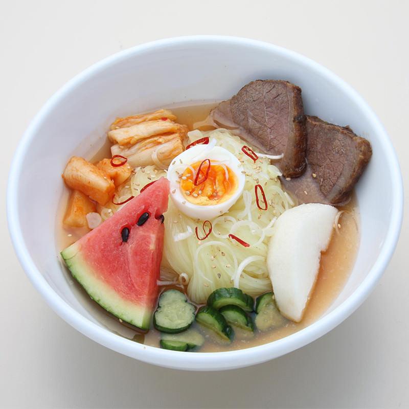 本場岩手の味を食べ比べ。盛岡冷麺じゃじゃ麺セット 小山製麺・岩手県