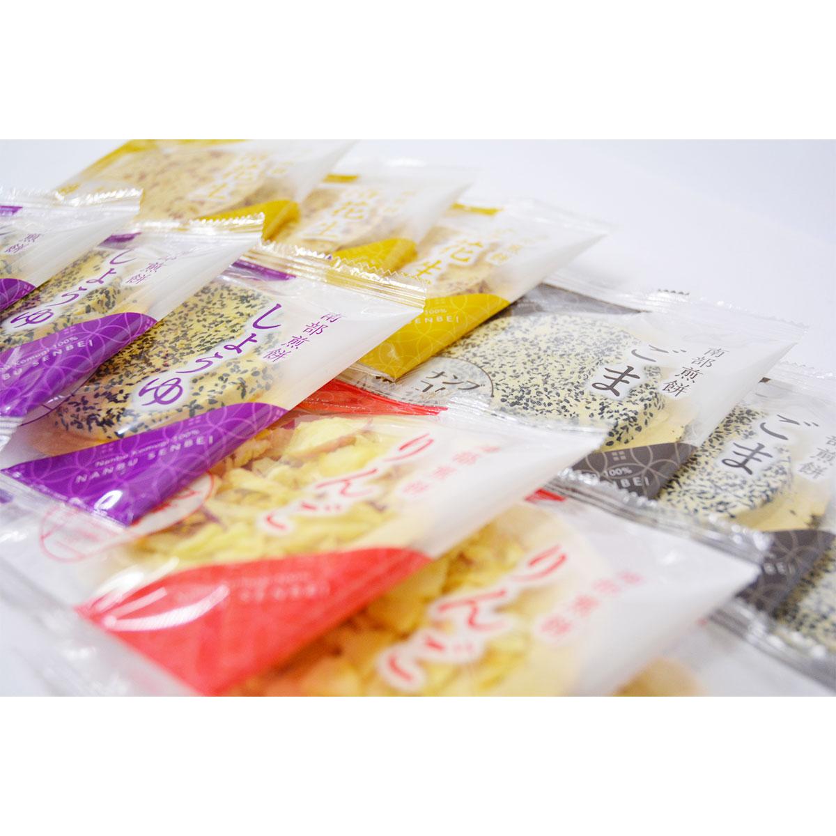 岩手県産南部小麦を100%使用。質の良い素材を使用した南部せんべいの詰合せ。志賀煎餅詰合せ 72枚入 志賀煎餅・岩手県