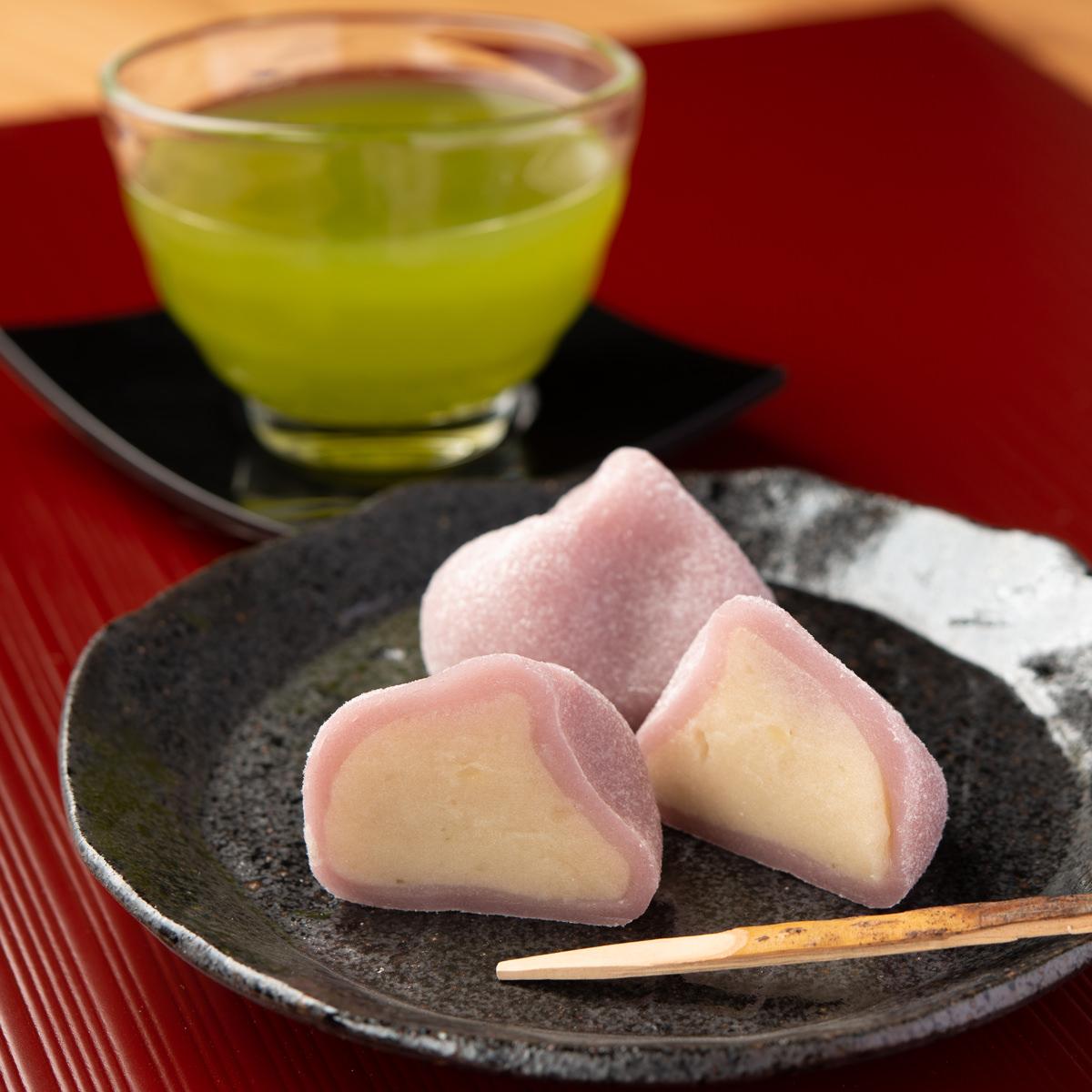 あやめもち 〔20個入〕 石川県 和菓子 金沢土産 神保