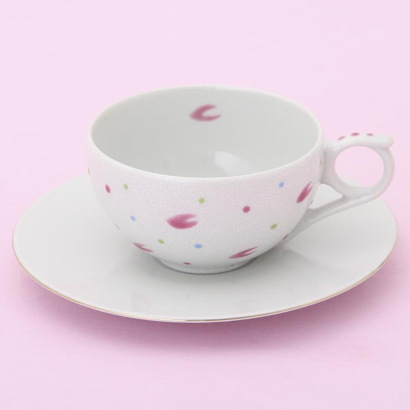 九谷焼ティーカップ「花うらら」〔1客〕
