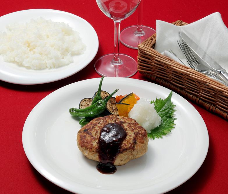 能登門前町産七面鳥を100%使用したハンバーグ・七面鳥ハンバーグ 丸山料理店・石川県