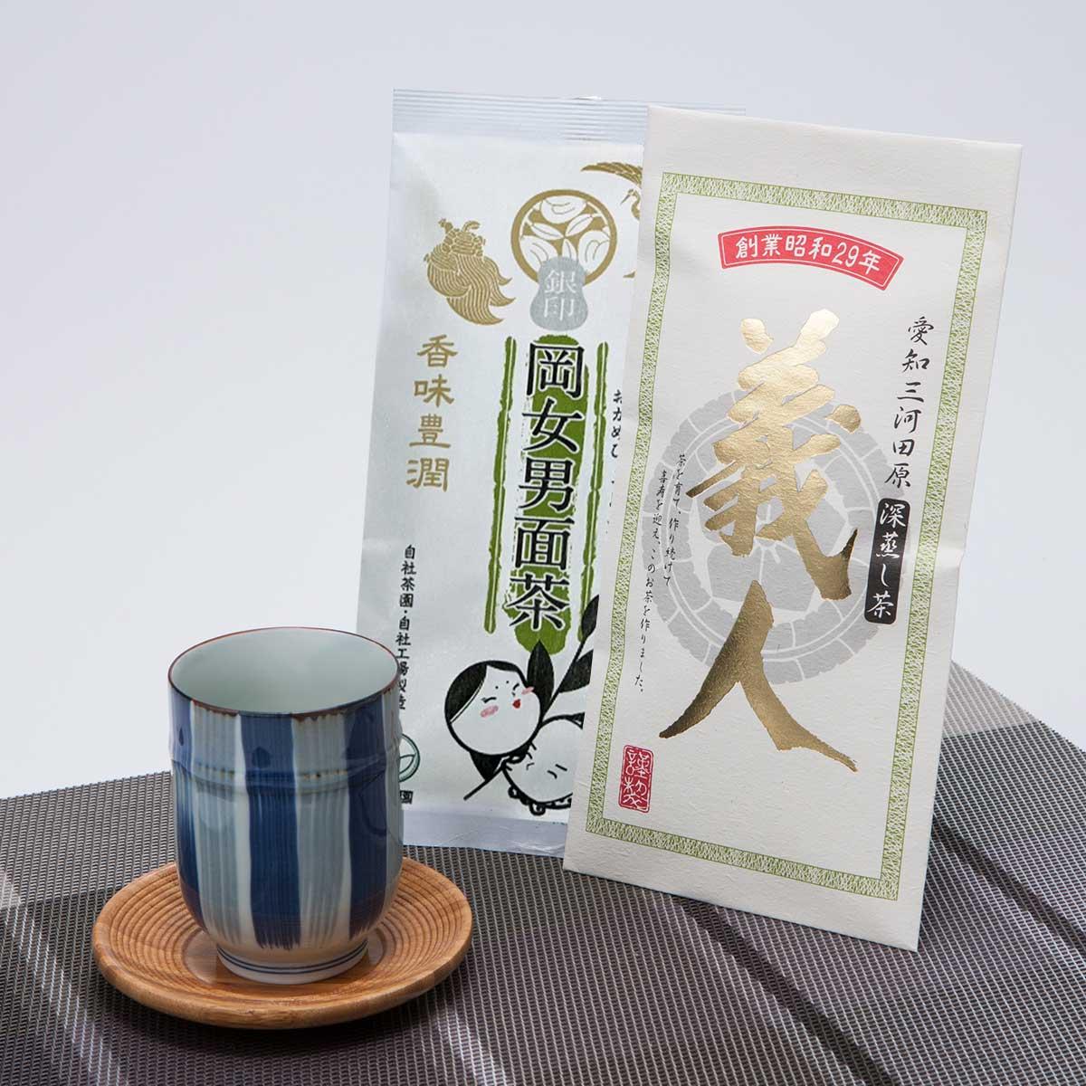 昭和29年(1954年)に創業した老舗茶園が厳選した 銘茶詰め合わせ VG-24 磯田園製茶株式会社・愛知県