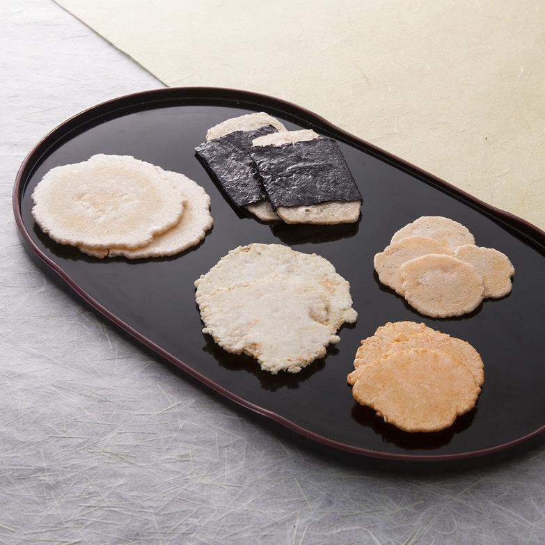 えびせんべい発祥地、一色町のえびせんべい店が作った 味彩 丸政製菓株式会社・愛知県