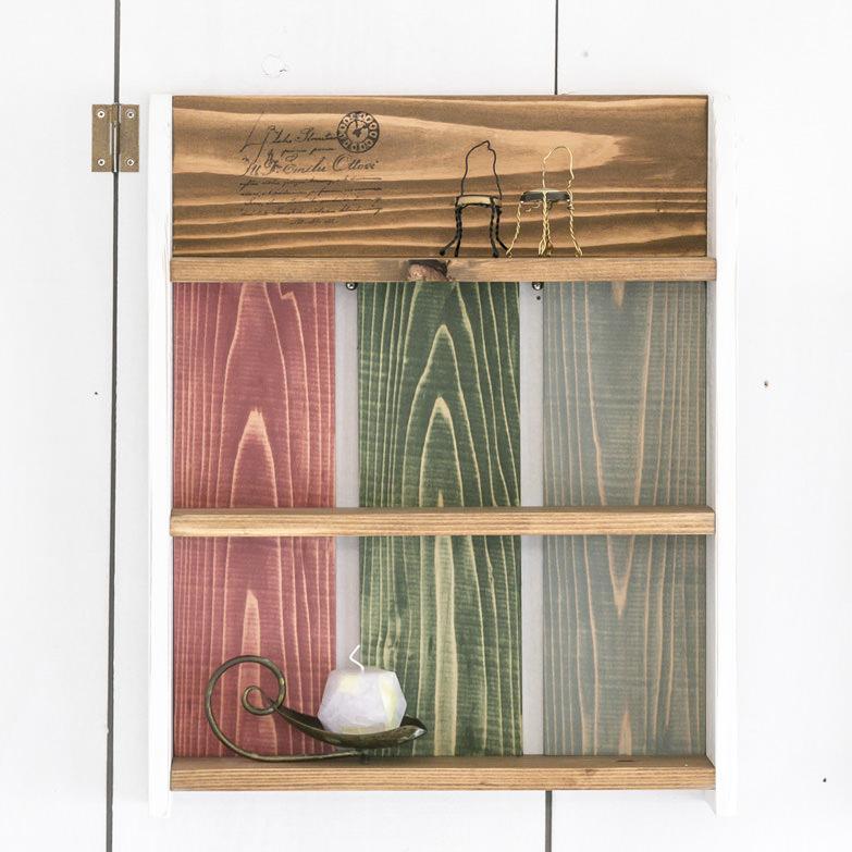 カリフォルニアスタイルナチュラル39シリーズ 3カラーシェルフ Shop Is.・高知県