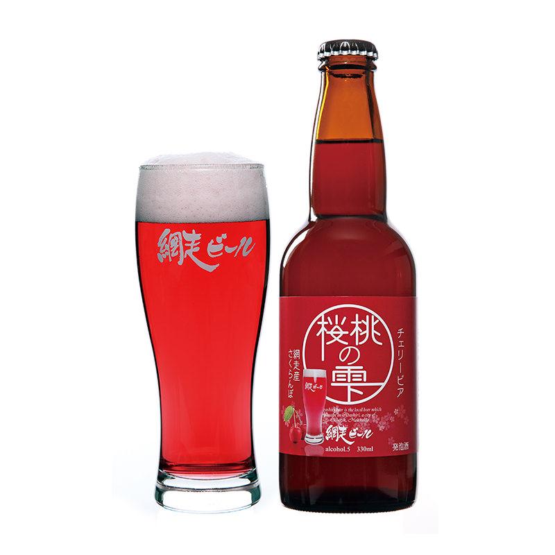 網走ビール 桜桃の雫6本セット〔330ml×6〕【沖縄・離島 お届け不可】