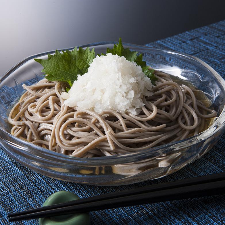 北海道産そば粉・小麦粉を使用し、昔ながらの製法で仕上げた 新得そばセット Y-30A 株式会社新得物産グループ本社・北海道