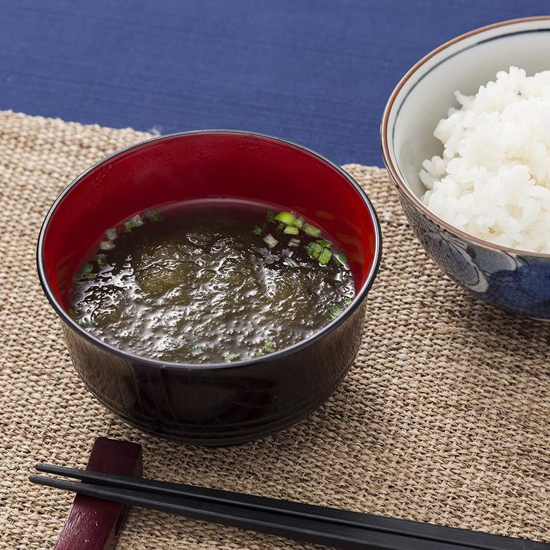 函館近海でしか採れない天然がごめ昆布を使用した がごめとろろ昆布汁セット 株式会社かまだ商店・北海道