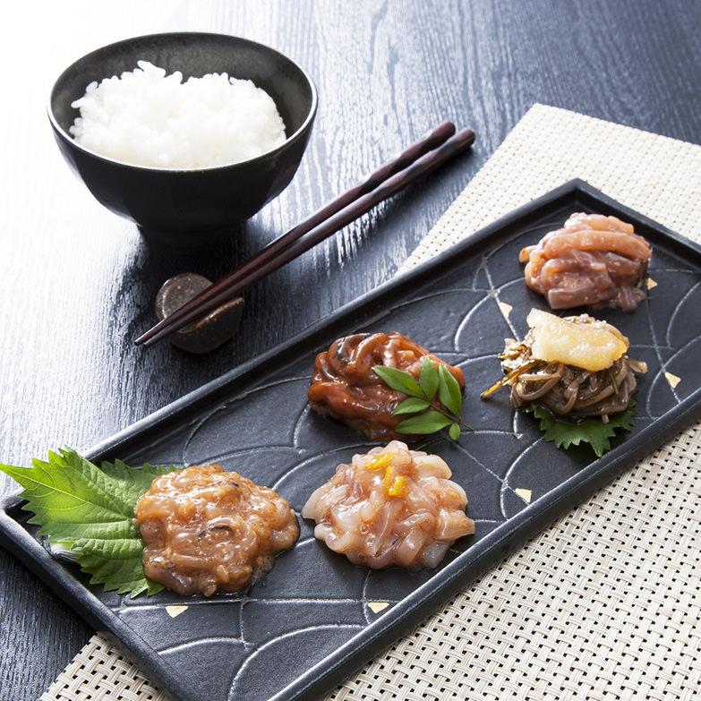 函館の便り 兼八水産株式会社 北海道 いかのまち」函館からお届けする、老舗ならではの味を詰め合わせ