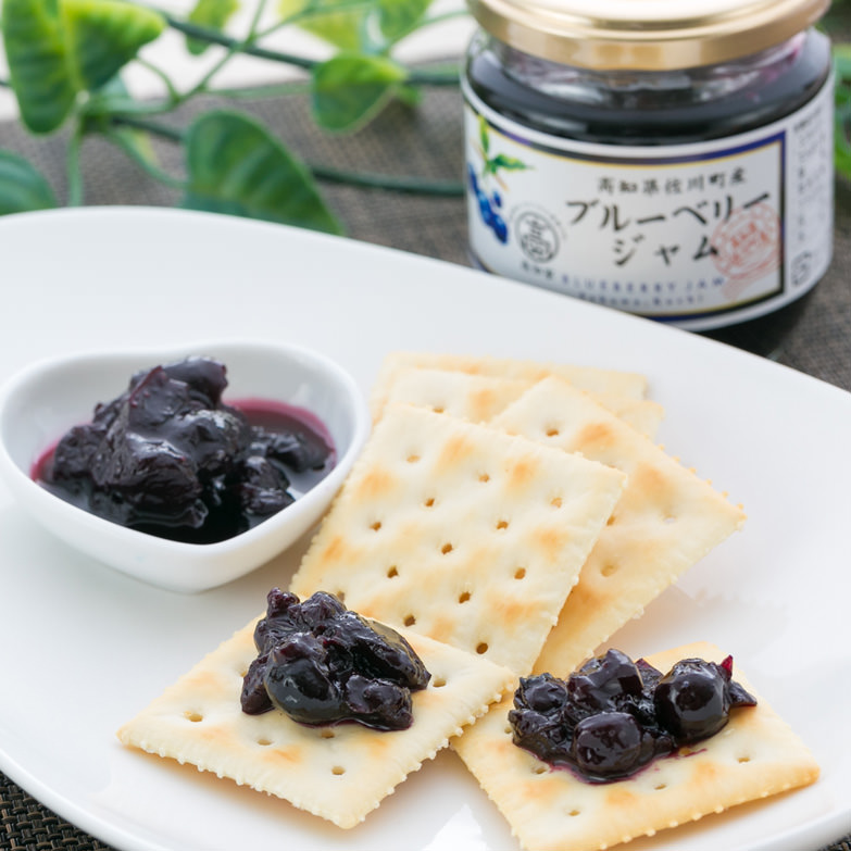 ブルーベリージャム&焼き菓子詰め合わせ 島崎商事 高知県 自社農園で収穫したブルーベリーを従業員が一粒一粒、手摘みしました