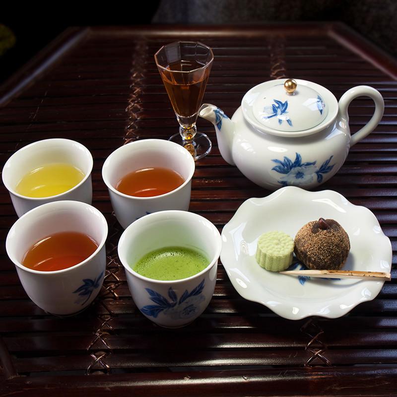 近江茶だんらんセット-上煎茶TB・お番茶焙じ茶TB・和の紅茶TB・抹茶「武の翠」 近江銘茶 武久商店 滋賀県 バラエティー豊かなセットです。