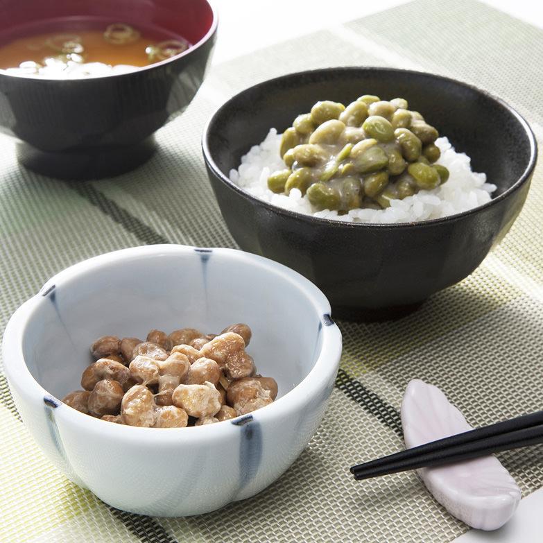えだ豆納豆食べ比べセット 株式会社中田園 北海道 十勝・帯広の納豆メーカーが開発した枝豆の納豆2種