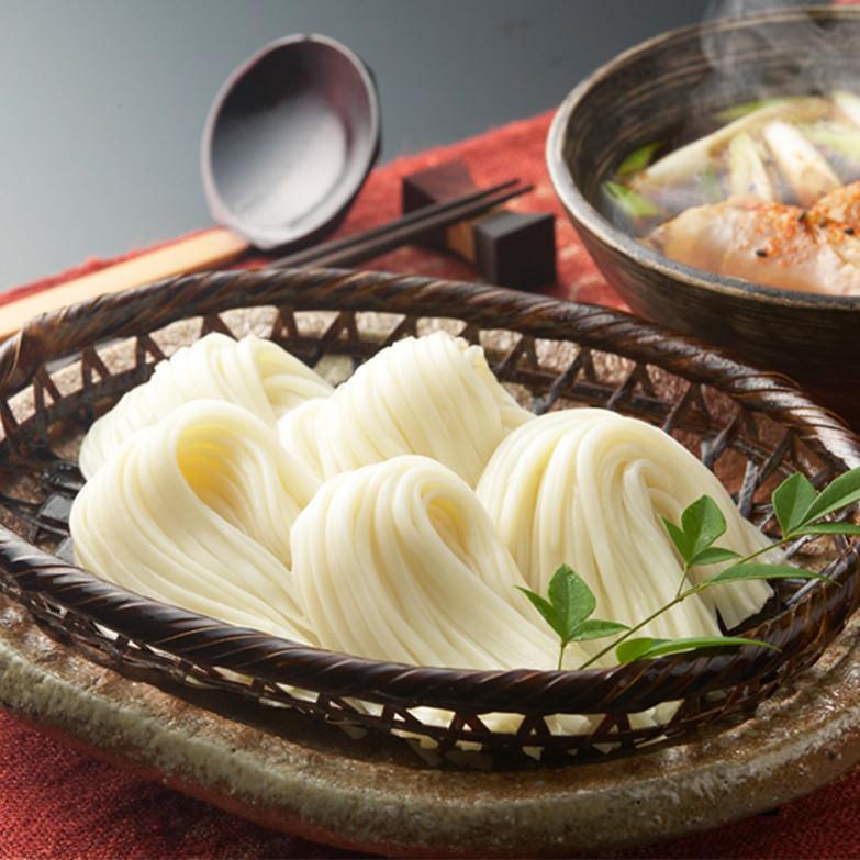 稲庭 麺の彩りギフト 株式会社後文 秋田県 「稲庭うどん」「稲庭うどん国産」「稲庭素麺国産」「稲庭冷麦国産」。4種類の麺をセットにしました。