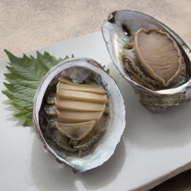 白神そだちの白神あわび(煮貝3個入り) 日本白神水産株式会社 秋田県 磯の風味が抜群!白神あわびを醤油だれで煮込みました。