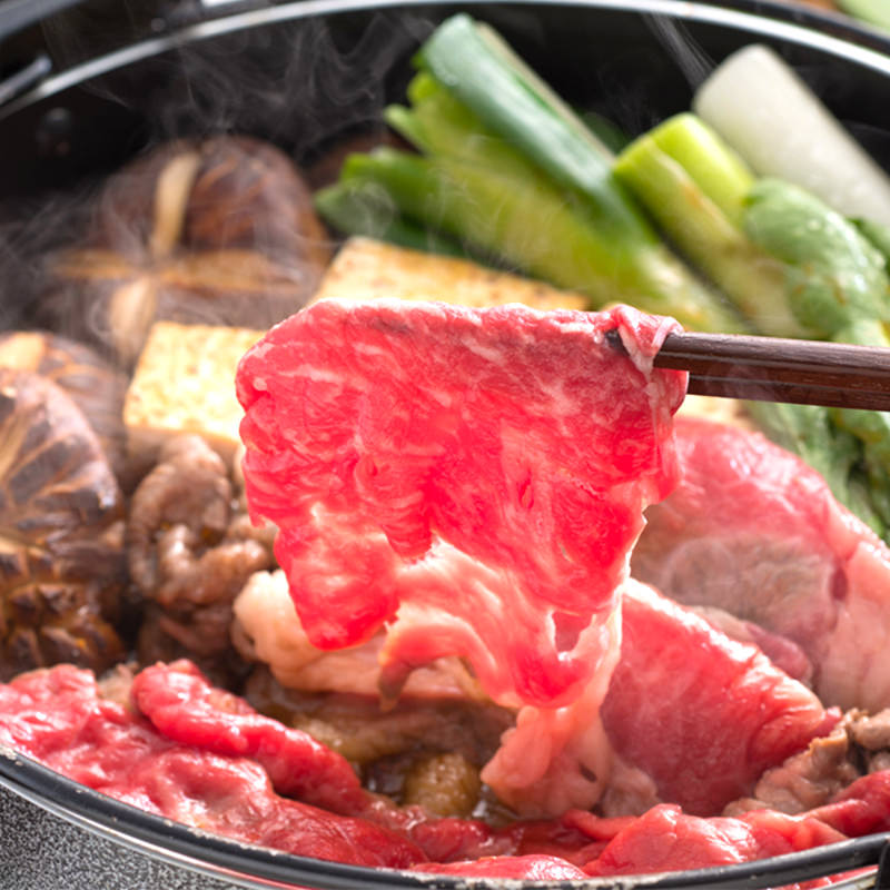 土佐あかうしすき焼きセット〔1kg〕四国・高知県 マチダ牛肉店