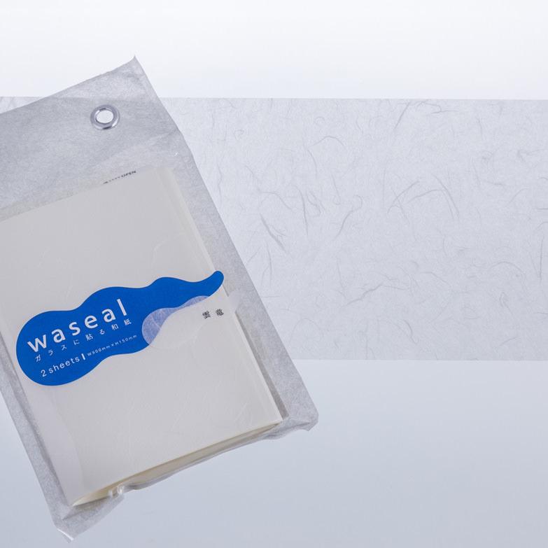 ガラスに貼る和紙ワシールセット 株式会社モリサ 高知県