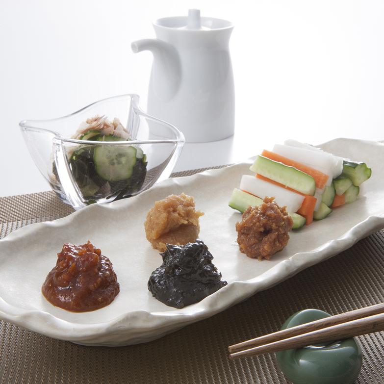 新潟土産-山田醸造【元気家族(味噌・醤油詰合せ)】