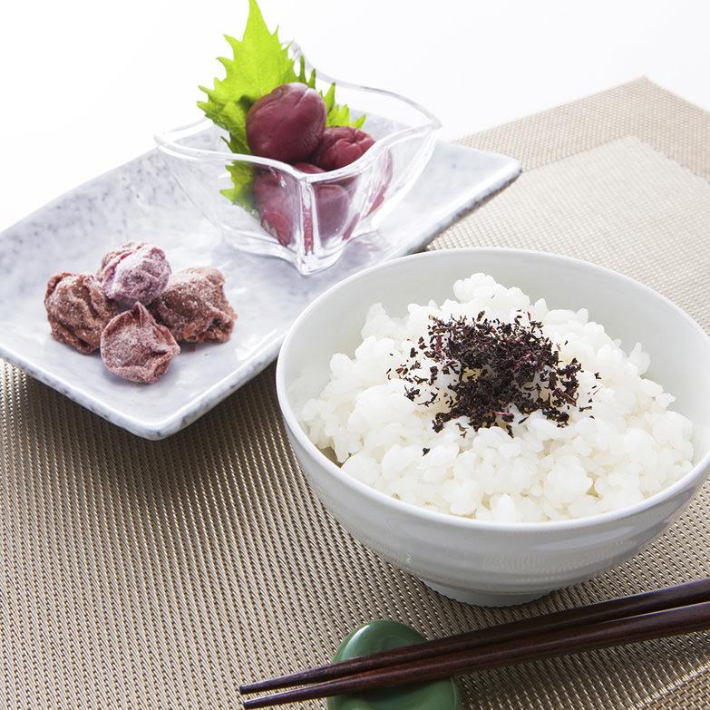 延年梅セット 株式会社プラムナチュール 岐阜県 有機肥料で育てた郡上産の梅を塩としそだけで漬けた昔ながらの梅干しセット。