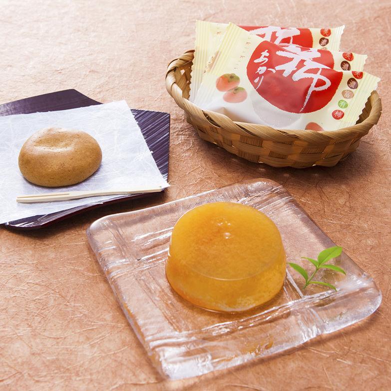 富有柿詰合せ 株式会社御菓子所吉野屋 岐阜県 岐阜が発祥地とされる富有柿をふんだんに使ったお菓子のセット 。
