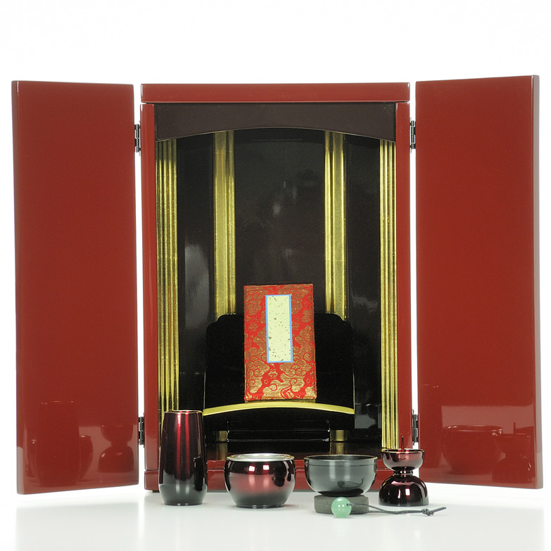 想い入れ箱(胴長観音開き) 有限会社瑞光堂 鹿児島県 現代のライフスタイルに合わせた新しい仏壇です。