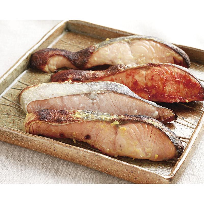 羅臼産 秋鮭の漬魚味くらべ