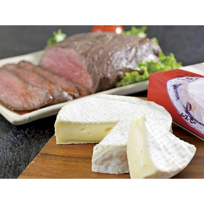 乳蔵カマンベールチーズ&北海道ローストビーフ